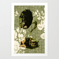 Dueling Phonographs VIII Art Print