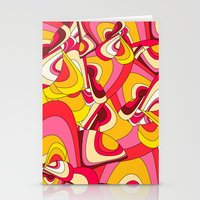 psychadelic Stationery Cards featuring o emilio by Norma Lindsay