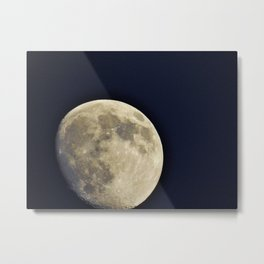 To The Moon Metal Print