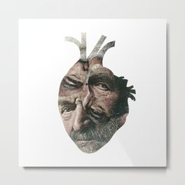 Weary Heart Metal Print