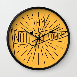Not My Own Wall Clock