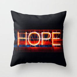 Hope. Throw Pillow