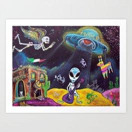 Area 54 Art Print