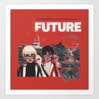 The Future of Us Art Print