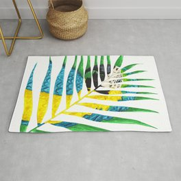 Parrot Palm Leaf Rug