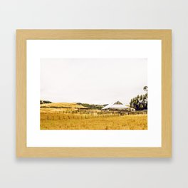 Coastal Range Getaway Framed Art Print