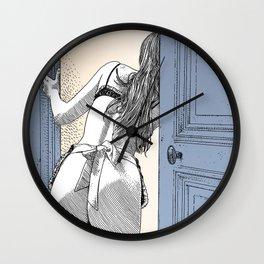 asc 690 - Le service en chambre (You rang?) Wall Clock
