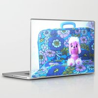 poodle Laptop & iPad Skins featuring Poodle Packing by Vintage  Cuteness