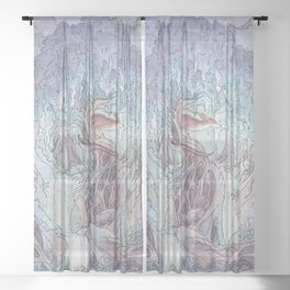 Fen's Forest Sheer Curtain