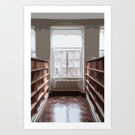 Library Art Print