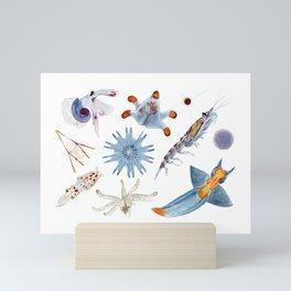 PLANKTON Mini Art Print