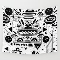 gameboy Wall Tapestries featuring Costok 1 by Cosmic Nuggets