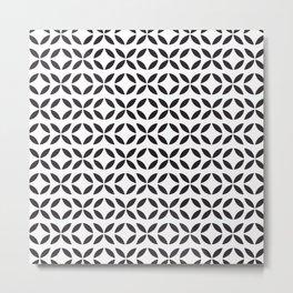 ᚖ NOIR SERIES ᚖ - Ethnic Chic Pattern Metal Print