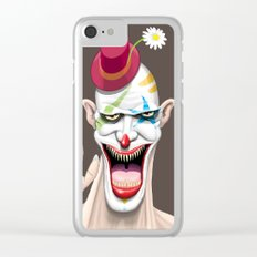 Mr Creepy Clear iPhone Case