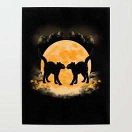 Black Cats Paradise Poster