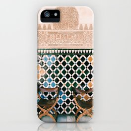 Alhambra Seats iPhone Case