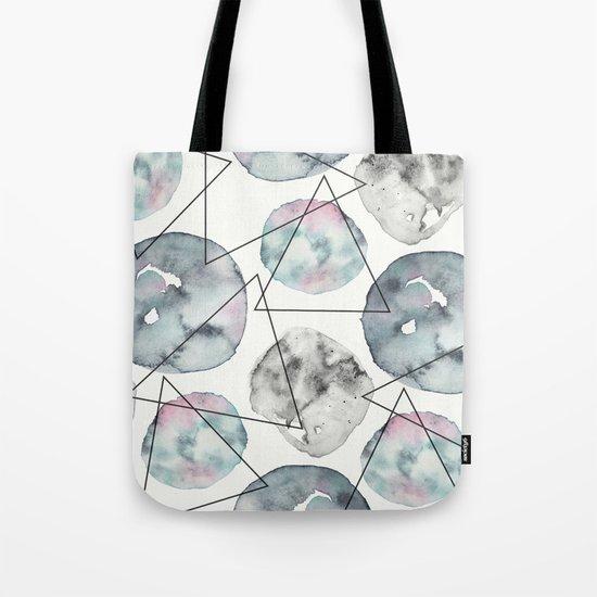 Orbiting Asteroid Pattern Tote Bag