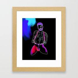 lonniedraws x zachary zane Framed Art Print