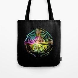 ...a simple kind of abstract mandala Tote Bag