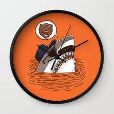Da Chicago Shark Wall Clock