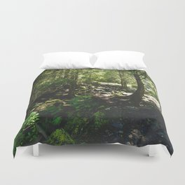 Oregon Forest Duvet Cover