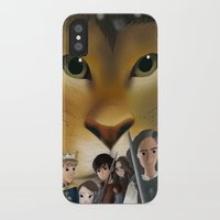 narnia iPhone & iPod Cases featuring Narnia by BellaG studio