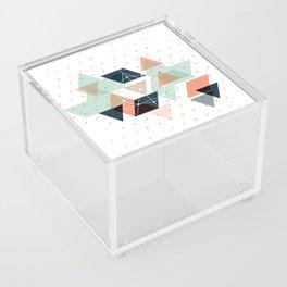 Midcentury geometric abstract nr 011 Acrylic Box