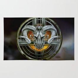 """""""Astrological Mechanism - Aries"""" Rug"""
