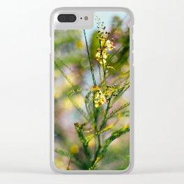Cañafistula Clear iPhone Case