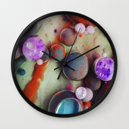 Planetary Clusterfuck Wall Clock