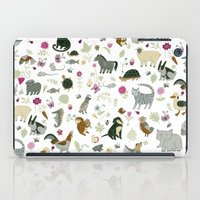 toddler iPad Cases featuring Animal Chart by Yuliya