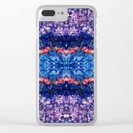 cosmic sky Clear iPhone Case