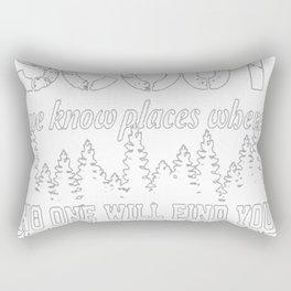 NEVER MESS WITH A SCOUT... Rectangular Pillow