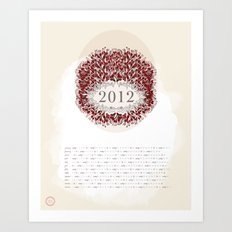 Ash & Anchor 2012 Calendar Art Print