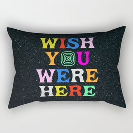 Wish You Were Here Rectangular Pillow