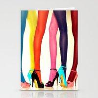 legs Stationery Cards featuring Legs by Wanker & Wanker