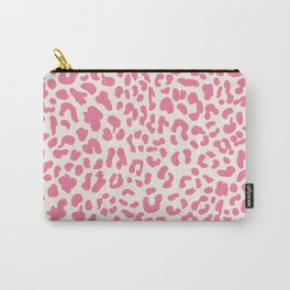 Pink Leopard Print Carry-All Pouch
