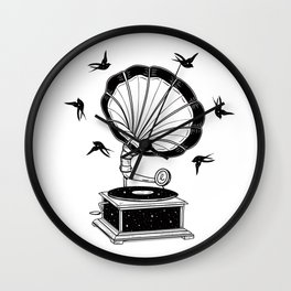 Cosmic Harmony Wall Clock