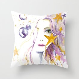 Universe Boho Throw Pillow