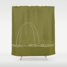 St. Louis by Friztin Shower Curtain