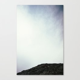 False Summit Canvas Print