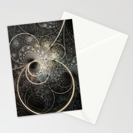 Mobius Rings Stationery Cards