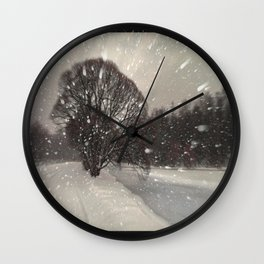 Out of the window... Wall Clock