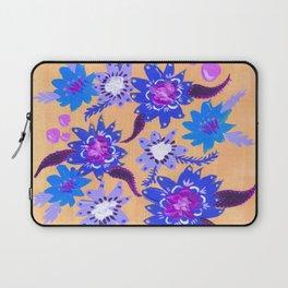 Butter Blue Blooms Laptop Sleeve