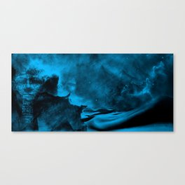 Sands of the Cosmos - Deep Blue Canvas Print