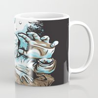 dragonball z Mugs featuring Z! by Locust Years
