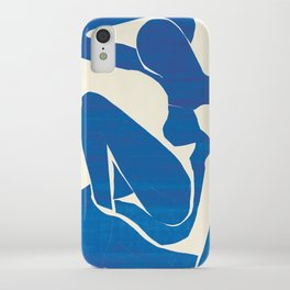 Blue Nude #1- Henri Matisse iPhone Case