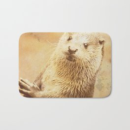 Vintage Animals - Otter Bath Mat