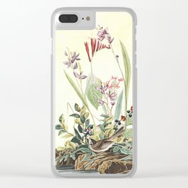 Adventures with Audubon Clear iPhone Case