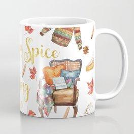 Pumpkin Spice & Reading are Nice Coffee Mug